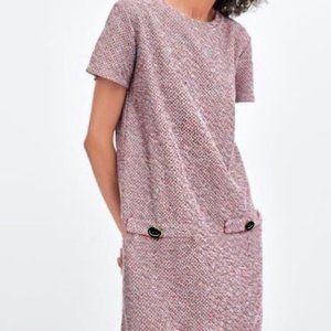 Primark Multicolor Tweed Shift Dress